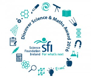 We've been awarded with the Discover Science and Maths Award 2016