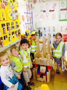 Step 3 Design and make a building in Junior Infants D100
