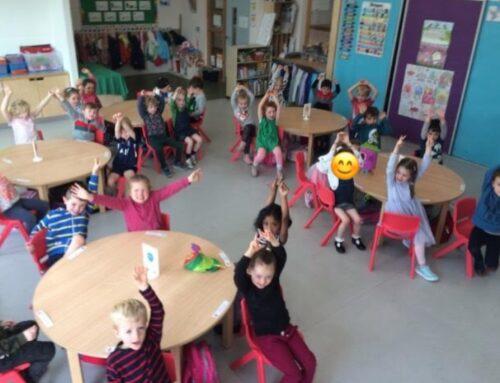 First Week in Junior Infants Green!