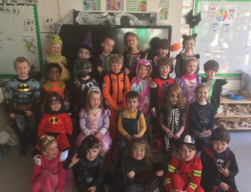 Autumn & Halloween fun in Junior Infants