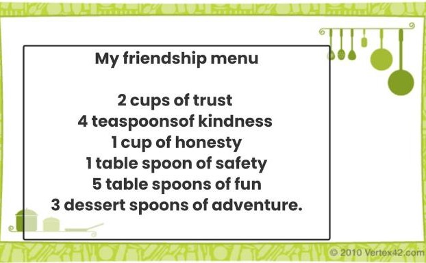 Ruben's Friendship Soup Recipe